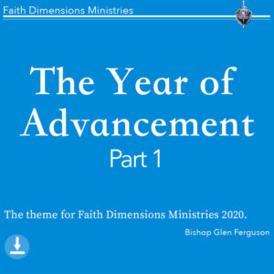 the year of advancement pt.1